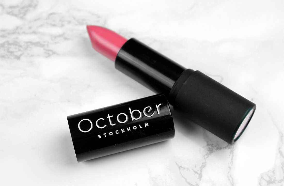 October Stockholm Longwear Matte Lipstick Absolute Pink