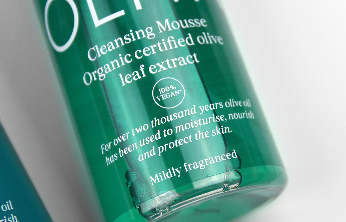 oliva cleansing mousse