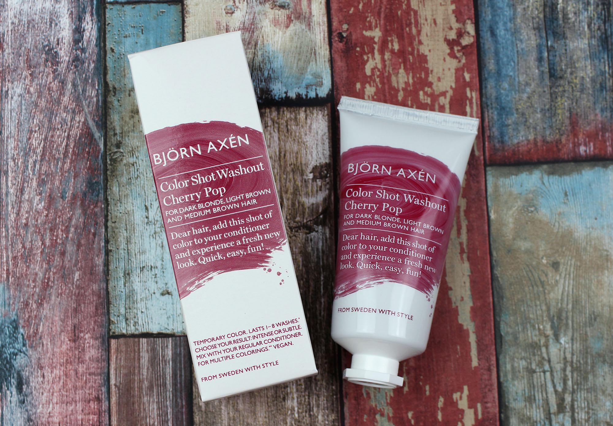 Björn Axen Color shots låter dig alltså byta hårfärg tillfälligt 282e83e0d82e5