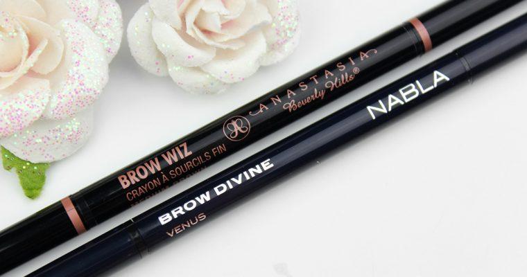 Anastasia Brow Wiz VS Nabla Brow Divine